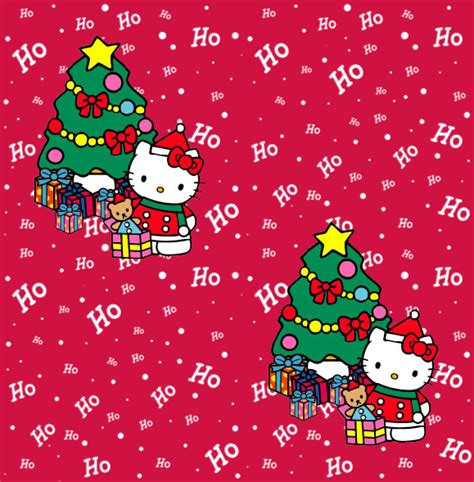 kitty christmas wallpapers wishes