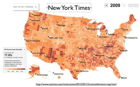 interactive map of american slavery ny times ny times the geography of government benefits map