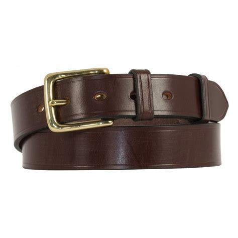 cropthorne west end bridle leather belt in nut