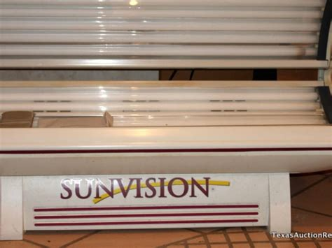Sunvision Tanning Bed by Sunvision Pro 24s Tanning Bed