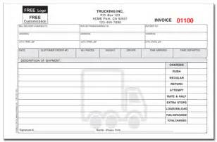 Delivery Invoice Template by Custom Invoice Forms