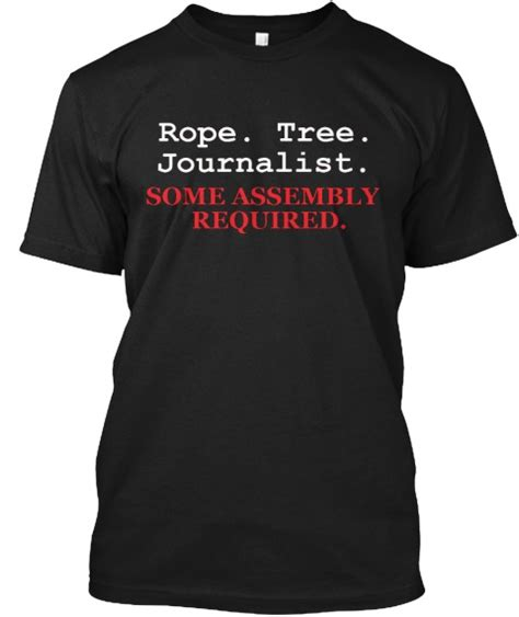 Tshirt Press Sign For Journalists press freedom is attack not least on our own shores
