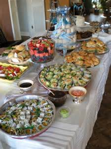 food ideas for afternoon baby shower baby shower food