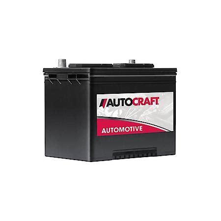 AutoCraft Automotive Battery, Group Size 24, 525 CCA 24 2