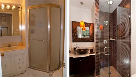how to remodel a small bathroom before and after bathroom design gallery before after remodeling photos