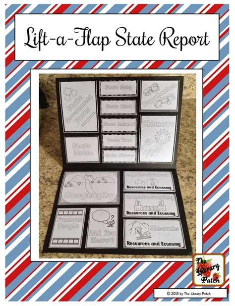 state report template lift a flap state research report