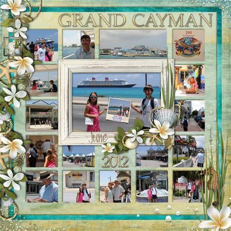 scrapbook layout ideas cruise disney cruise scrapbook layout grand cayman disney