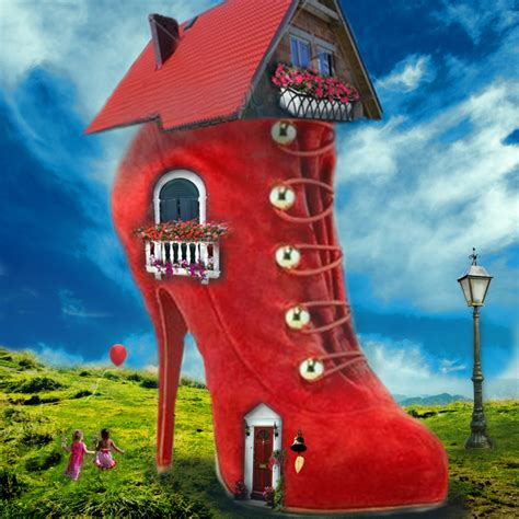 shoes in house shoe house by catlady700 on deviantart