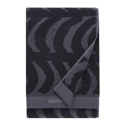 black bathroom towels marimekko rautasnky black bath towel marimekko rautasnky black towels
