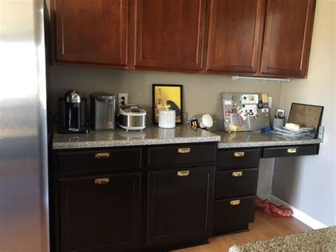 replacing kitchen desk with cabinets need help to convert kitchen desk to counter