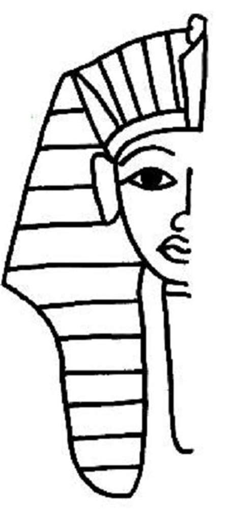 king tut mask template free coloring pages of mask of king tut
