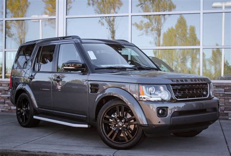 land rover lr4 silver 2016 land rover lr4 hse silver edition sport utility