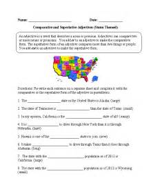 comparing adjectives worksheet photos dropwin