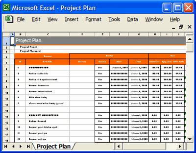Template Project Plan Http Webdesign14 Com Design Project Plan Template Excel