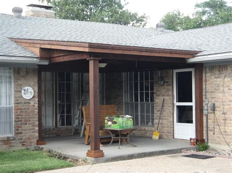 shed roof porch style for home
