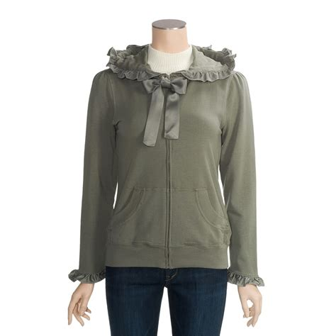 Ruffle Hoodie true grit ruffle hoodie sweatshirt for 3094c