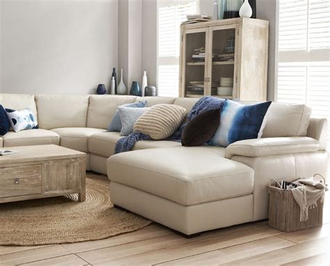 freedom sofa freedom monopoli 4 piece leather modular sofa in universal