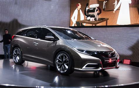 future honda civic future honda civic tourer unveiled at geneva motor