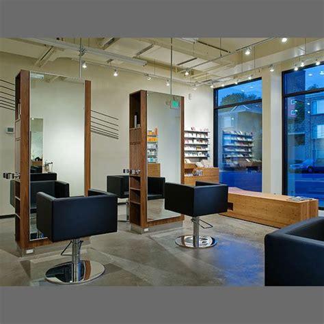 blue modern salon interior design salon interiors