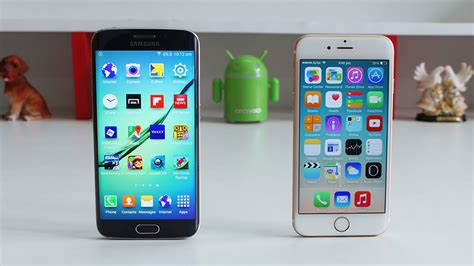 galaxy s7 vs iphone 6s which is best