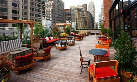 Roof Top Bars In New York by The Best Rooftop Bars In New York