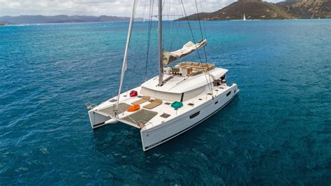 catamaran song dreamsong crewed catamaran charter virgin islands