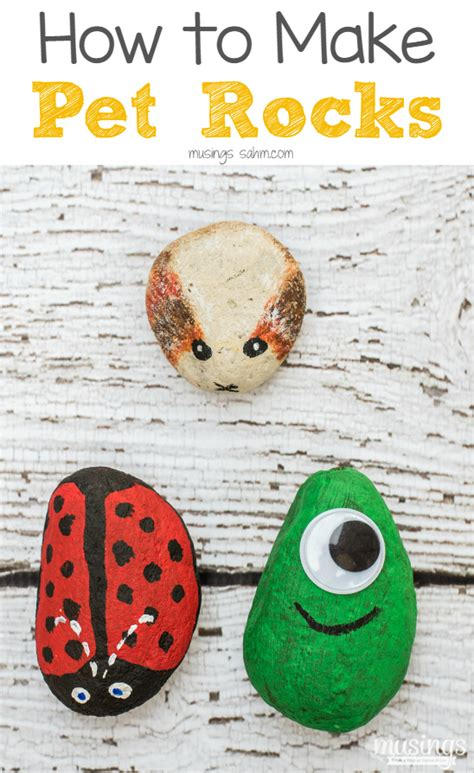 How To Make A Paper Rock - how to make pet rocks living well