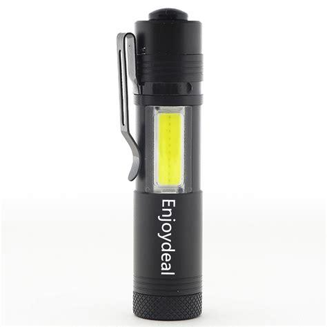 Led Mini Torch mini flashlight 2000lm q5 led cob led torch l light