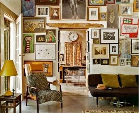 eclectic wall decor 20 inspiring bohemian living room designs rilane