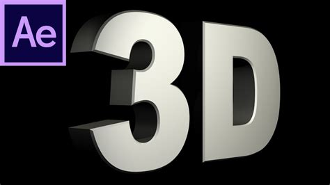 tutorial lettering 3d after effects tutorial cs6 new 3d text extrusion hd