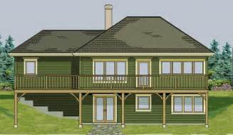 one story house plans with walkout basement walk out basement on pinterest basements walkout
