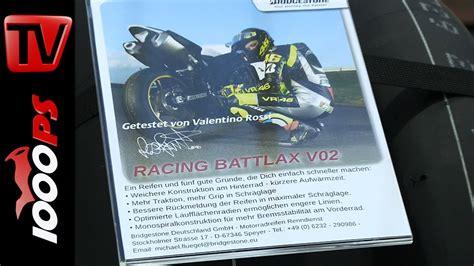 Motorradreifen Linz by Bridgestone Racing Battlax V02 Motorrad Slick 2014