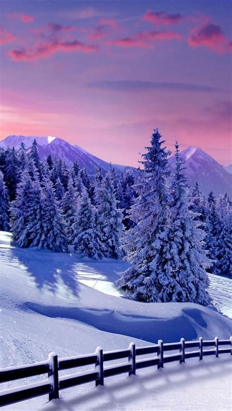 iphone  wallpapers hd blue winter snow iphone  hd