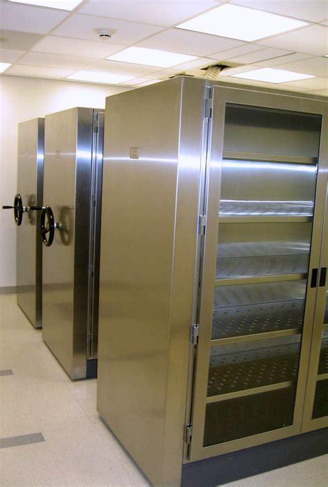 high density storage cabinets specimen storage in the surgical pathology laboratory