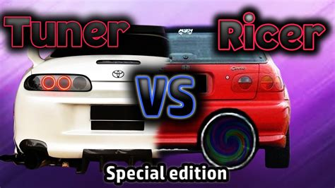 ricer vs tuner tuner vs ricer exhaust burnouts and fails