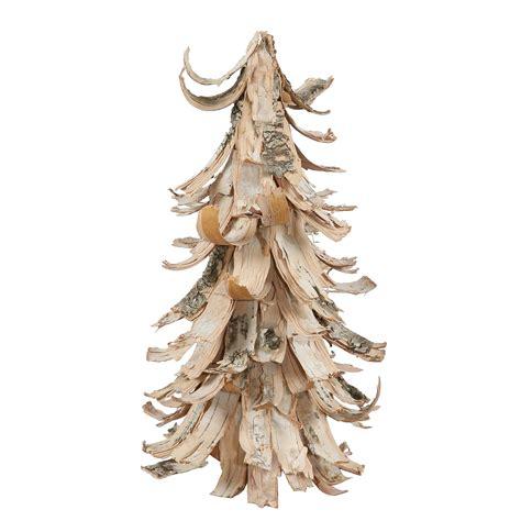 12 quot birch bark cone tree