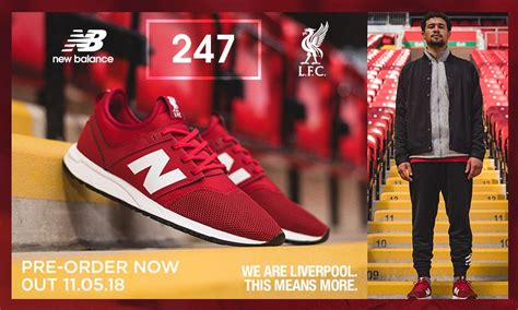 Jual New Balance 247 Lfc available now pre order the new lfc 247 trainers liverpool fc