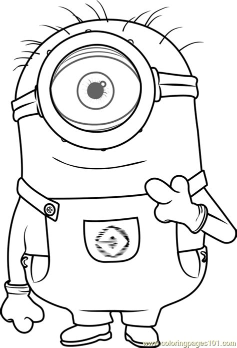 minion carl coloring page carl coloring page free minions coloring pages