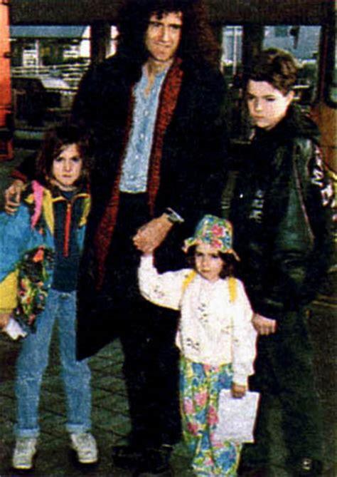 brian may children through the years 1970s 1990s