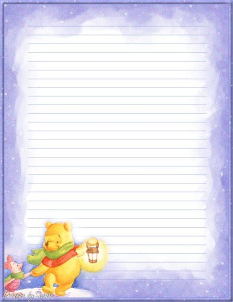 winnie the pooh writing paper 202 best images about d is disney stationery on