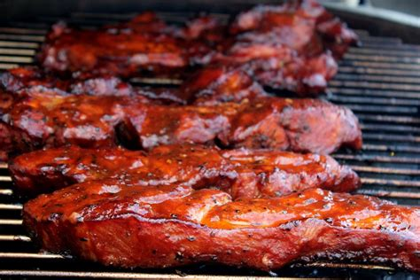 country style pork ribs smoker recipe smoked pork country style ribs cherry dr pepper theme