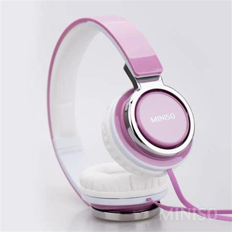 Miniso Headphone 1 ultimate headphone purple miniso australia