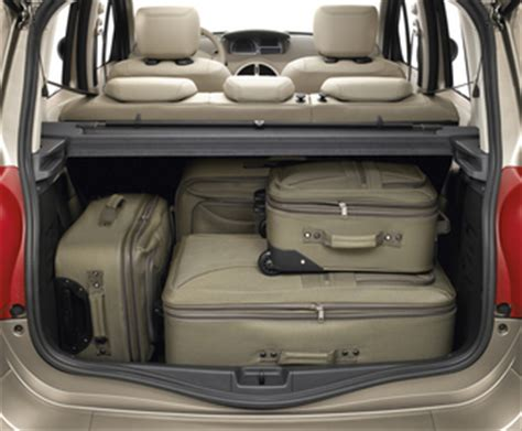 renault grand scenic luggage capacity fiche technique renault grand modus 1 5 dci90 eco 178