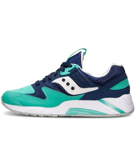 saucony sneakers mens saucony s grid 9000 casual sneakers from finish line