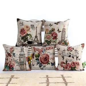 Sofa Seat Cushion Cover Flor Sof 225 Almofadas P 225 Rr Cojines Silla Cojines Vintage