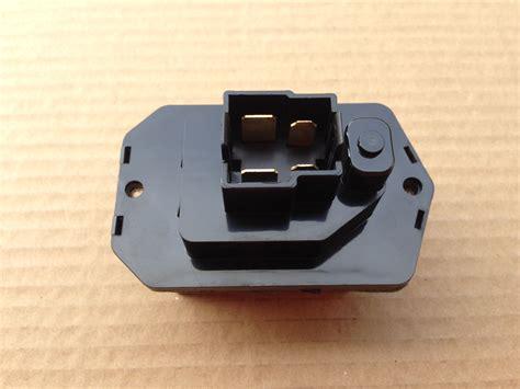 blower motor resistor values r021 new hvac blower motor resistor oem 79330sjk941 ebay