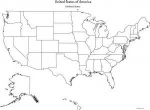 best photos of map of us without states labeled