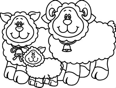 sheep family coloring page carson dellosa family sheep coloring page wecoloringpage