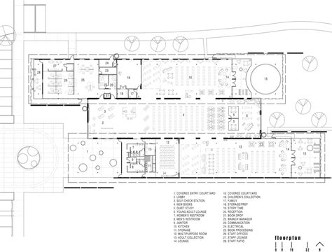 mountain architecture floor plans gallery of sunrise mountain library rich 228 rd bauer 17