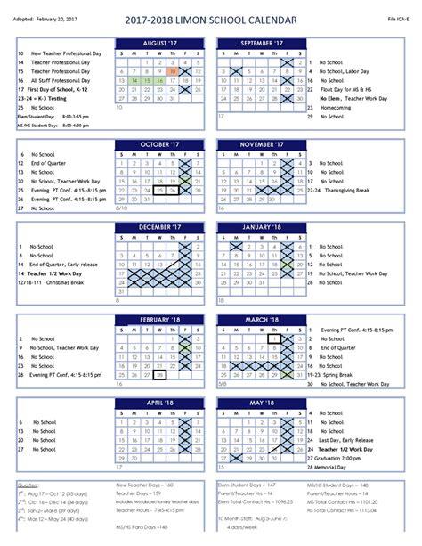 4j Schools Calendar Yearly Calendar